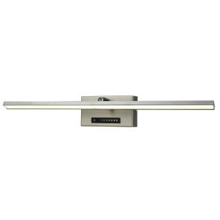 Applique Dimmer - 50 x 7 x 8,5 cm - Acier brossé et chromé