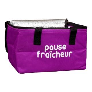 Lunch bag fraîcheur isotherme - Pause fraîcheur