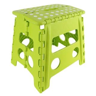 Marche pieds compact et pliable - Bicolore Vert