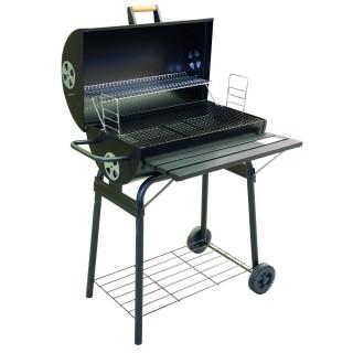 Barbecue rectangulaire avec couvercle Kansas - Ardoise