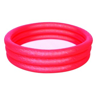 Piscine gonflable 3 boudins Atlantica - Diam. 1,2 m - Rouge