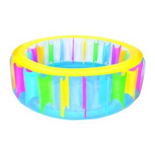 Piscine gonflable Arc en ciel - Diam. 1,83 m - Multicolore
