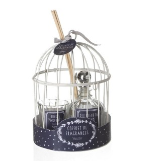 Coffret cage avec diffuseur 100 ml - Vanille