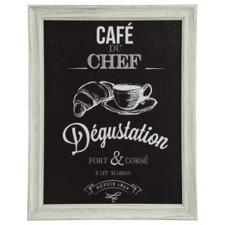 Cadre Chef - 40 x 50 cm - Café