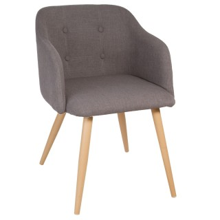 Chaise Luka - Gris