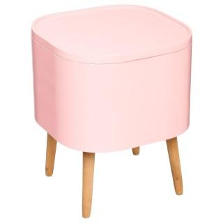 Table à café coffre Zael - Rose