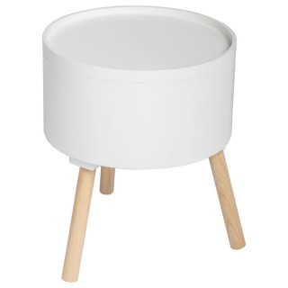 Table à café coffre Oshi - Blanc
