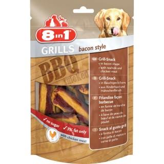 Friandises Grills bacon style - Viande de Bacon fumé