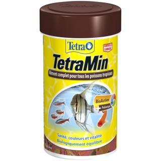Nourriture Poissons tropicaux Tetra TetraMin - 100 ml