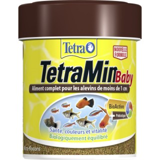 Nourriture Alevins Tetra TetraMin Baby - 66 ml