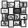 Pêle-mêle 16 photos - L. 59 cm - Noir