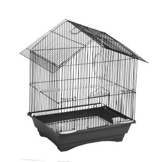 Cage à oiseau - 34 x 28 x 45 cm - Noir