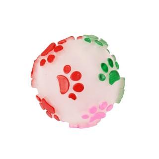 Jouet pour chien - Balle sonore - Multicolore