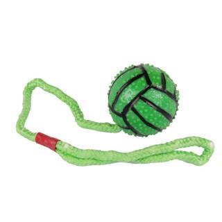 Jouet pour chien - Balle avec anse - Vert