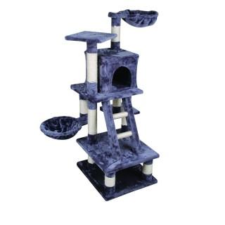 Arbre à chat - 100 x 70 x 116 cm - Gris