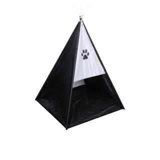 Tente tipi pour chien - Taille S - Noir