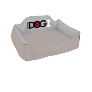 Panier pour chien rembourré Dogi - Taille M - Taupe