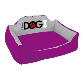 Panier pour chien rembourré Dogi - Taille XL - Violet