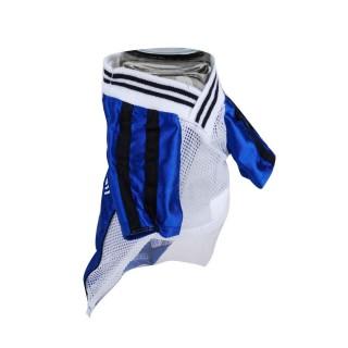 T-shirt pour chien Football - Taille S - Bleu
