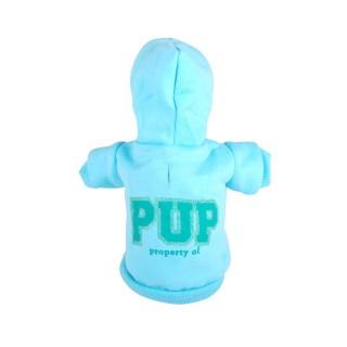Sweat à capuche pour chien Pup - Taille S - Bleu
