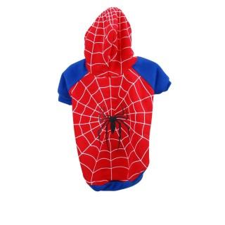 Costume pour chien Araignée - Taille L - Rouge