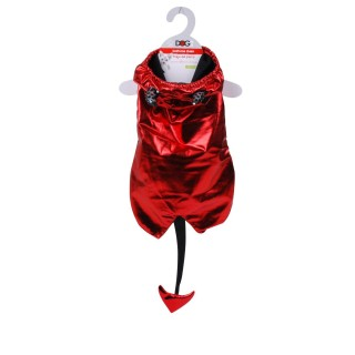 Costume pour chien Démon - Taille M - Rouge