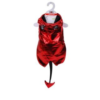 Costume pour chien Démon - Taille L - Rouge