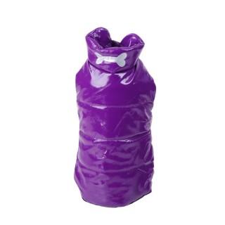Doudoune pour chien Os - Taille L - Violet