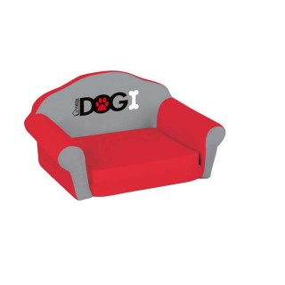 Sofa pour chien Dogi - Taille M - Rouge