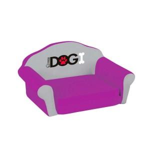 Sofa pour chien Dogi - Taille M - Violet