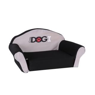 Sofa pour chien Dogi - Taille M - Noir