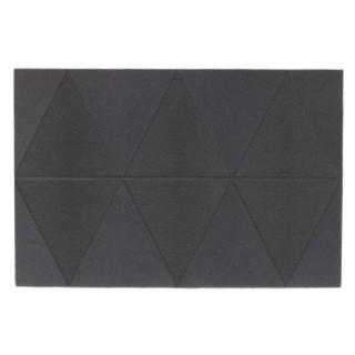 Paillasson Losange - 60 x 40 cm - Gris