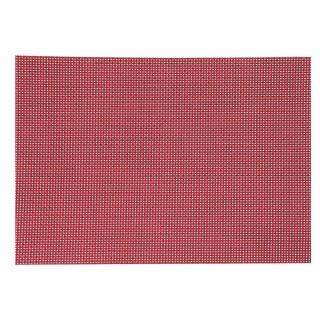 Set de table Texal - 50 x 35 cm - Rouge