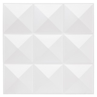 Sticker carrelage Pic - 9C X 6 - Blanc