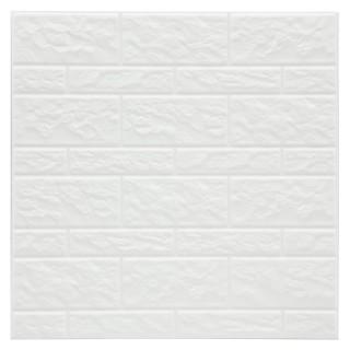 2 Stickers carrelage Mur - Blanc