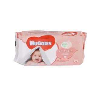 56 Lingettes pour bébé - Soft Skin Huggies