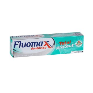 Dentifrice Total protect 5 Actions - Bi-fluor & Menthol Fluomax