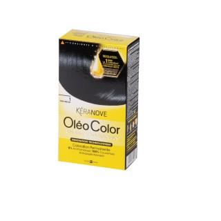 Oléo Color Coloration Permanente - 1 Noir Obscur Kéranove