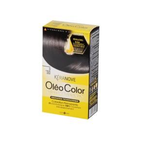 Oléo Color Coloration Permanente - 3 Châtain Foncé Secret Kéranove