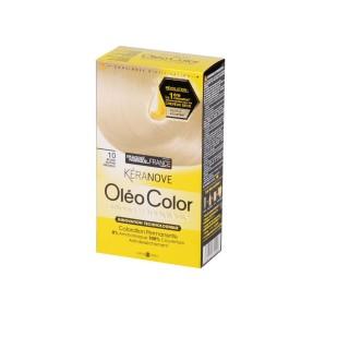 Oléo Color Coloration Permanente - 10 Blond platine précieux Kéranove