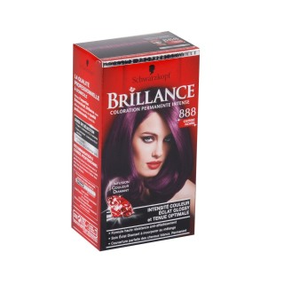 Brillance Coloration Permanente - 888 Cerise Noir Schwarzkopf