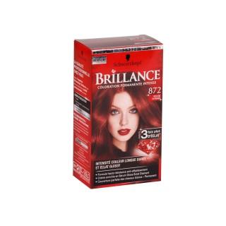 Brillance Coloration Permanente - 872 Rouge Intense Schwarzkopf