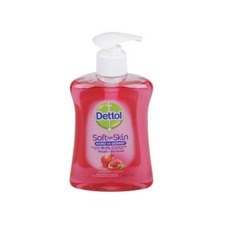 Gel Lavant Main Soft on Skin - Parfum Framboise et grenade Dettol