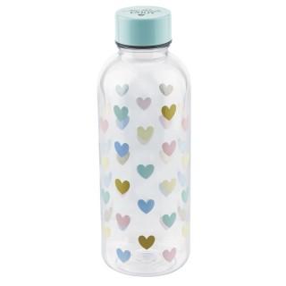 Bouteille d'eau Coeur- 0,5 L
