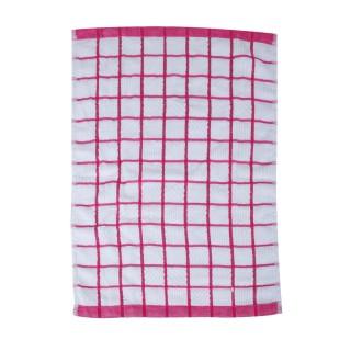 Essuie-vaisselle Microfibre - 60 x 40 cm - Rouge