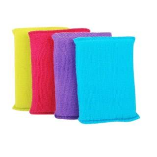 4 Eponges Microfibre - Toutes surfaces - Multicolore