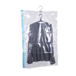 Housse sous vide avec cintre - 70 x 100 cm - Transparente
