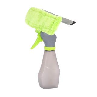 Lave vitre Microfibre avec spray - 22 cl - Verre anis
