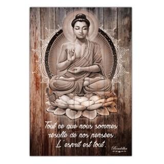 Cadre Bouddha - 23 x 34 cm - Ce qui te manque cherche