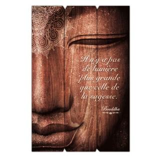 Cadre Bouddha - 40 x 60 cm - La sagesse
